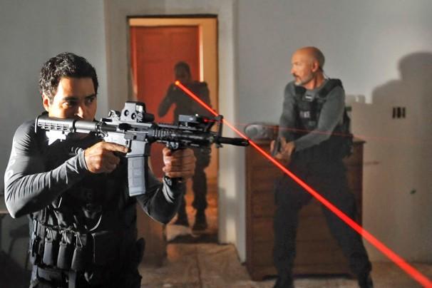 Cena de A Guerra das Gangues, série americana que a Globo começa a exibir na segunda, dia 1º de junho (Foto: Divulgação)