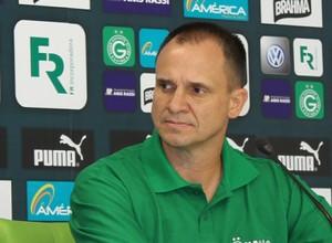 Wagner Lopes - técnico Goiás (Foto: Fernando Vasconcelos / Globoesporte.com)