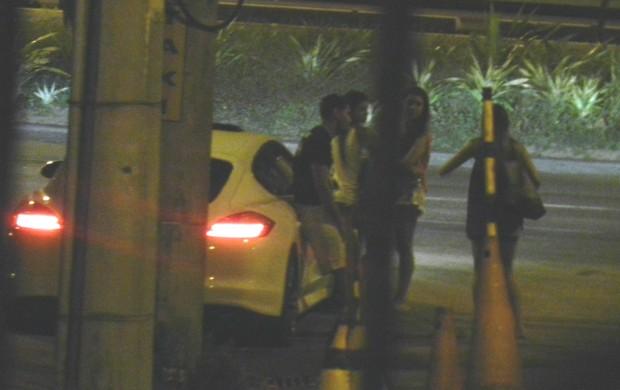 André Santos, acidente Flamengo (Foto: Ricardo Ferreira / O Globo)