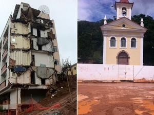 Pouca coisa mudou em Nova Friburgo um ano após a tragédia das chuvas (Foto: Thamine Leta/G1)