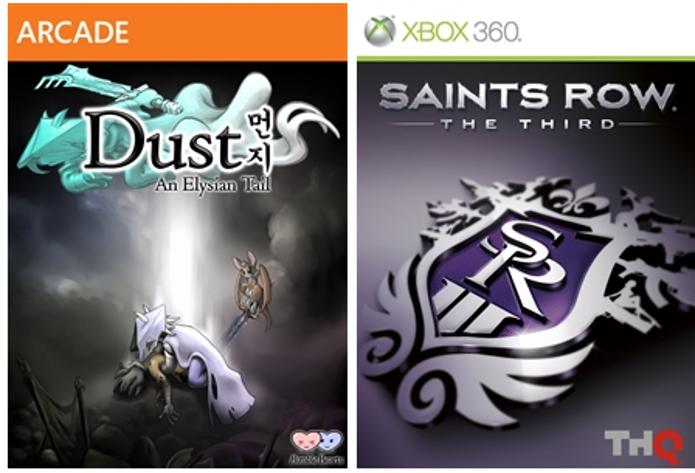 Dust: An Elysian Tail e Saints Row: The Third serão os games gratuitos de maio da Xbox Live. (Foto: Reprodução/Major Nelson)