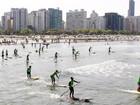 Prefeitura de Santos oferece cursos de stand up e canoagem nas férias