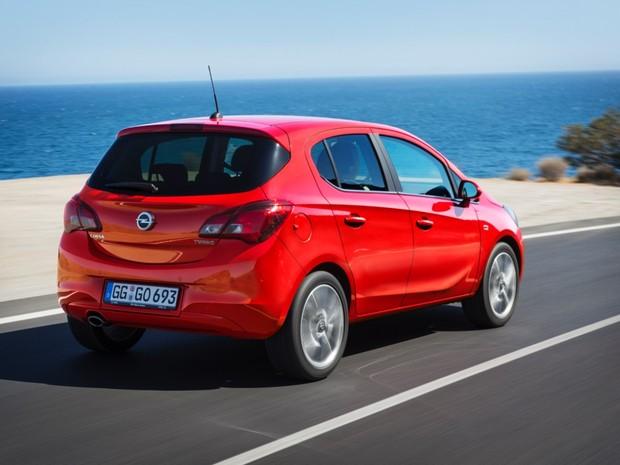 5ª geração do Opel Corsa (Foto: Divulgação)