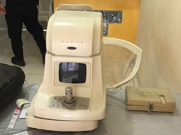 Clínica oftalmológica funcionava em Viana (MA) (Foto: Divulgação/Polícia Civil)