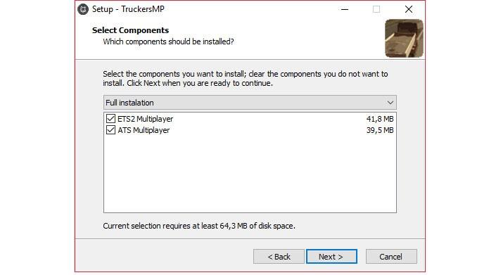 Marque a caixa ATS Multiplayer e conclua a instalação (Foto: Reprodução/Tais Carvalho)