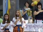 FOTOS: Volta às aulas na Ucrânia, Rússia, Israel e França