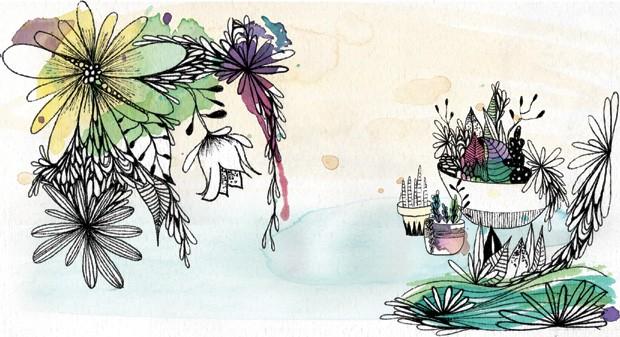 ananda-apple; ilustração (Foto: Ilustração: Patrícia Sodré)