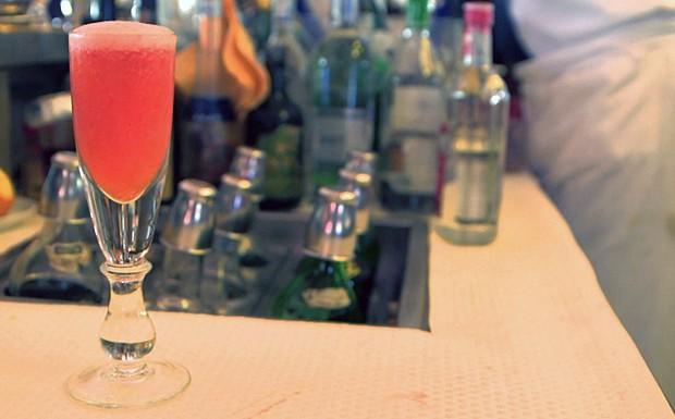 Drinque Rossini (Foto: Reproduo GNT)