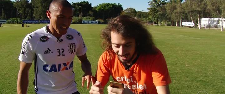 """Cartolouco: estagiário resenha com """"Geromito"""" e Nino """"Bolt"""""""