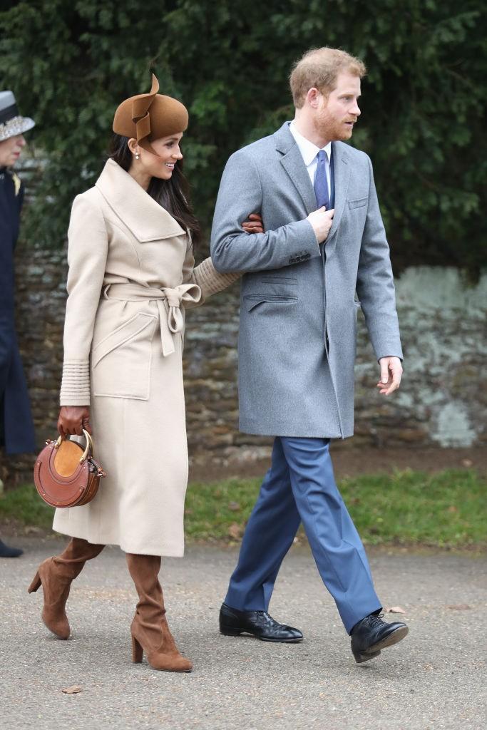 Meghan Markle ,e o noivo Príncipe Harry (Foto: Getty Images)