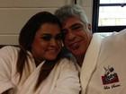 Assistente Preta Gil é só elogios a Lulu Santos: 'Meu mestre que amo'