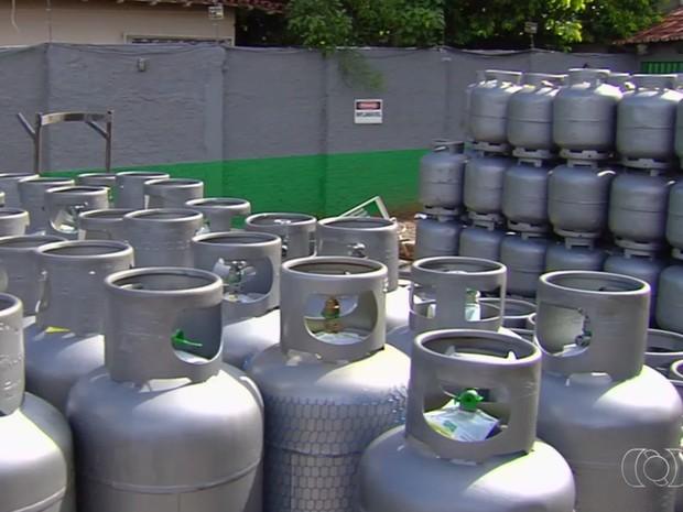 Preço do gás de cozinha pode chegar a R$ 70 após aumento de 9,8% em Goiânia Goiás (Foto: Renato Siqueira/Arquivo pessoal)
