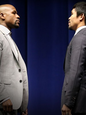 Carrossel - Pacquiao x Mayweather (Foto: Getty)