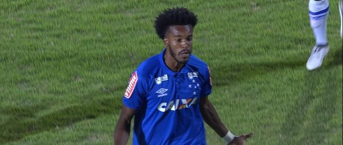 Joanderson empatou para o Cruzeiro (Foto: Reprodução/ SporTV)