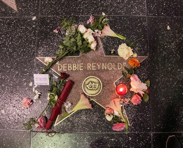Estrela de Debbie Reynolds (Foto: Getty Images)