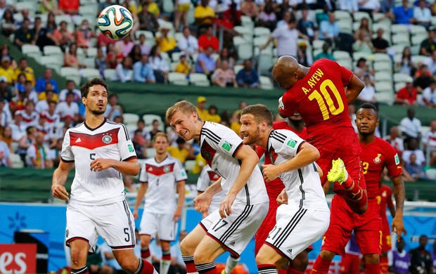 Andre Ayew gol Gana x Alemanha (Foto: Getty Images)