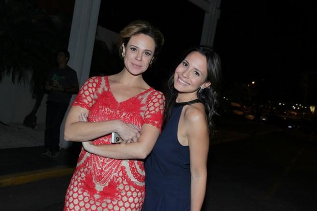 Vanessa Gerbelli e Juliana Knust (Foto: Alexander Palarea / AgNews)