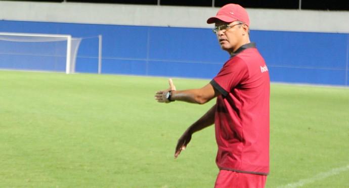 Sidney Bento técnico do Holanda-AM (Foto: Patrick Marques)