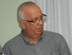 Guilherme Novinho, presidente do Botafogo-PB (Foto: Pedro Alves / GloboEsporte.com/pb)