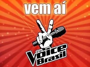Logo do programa 'The Voice Brasil', que será exibido pela TV Globo (Foto: Reprodução)