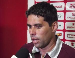 Leandro Sena é o novo auxiliar técnico do América-RN (Foto: Jocaff Souza)