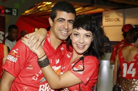 Marcius Melhem e Fabíula Nascimento (Foto: Marcos Pinto)