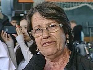 Elaine Gonçalves perdeu dois filhos no incêndio em Santa Maria (Foto: reprodução/TV Globo)