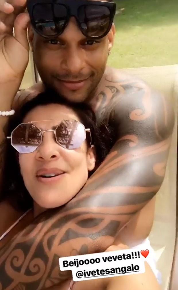 Scheila Carvalho e Tony Salles (Foto: Reprodução)