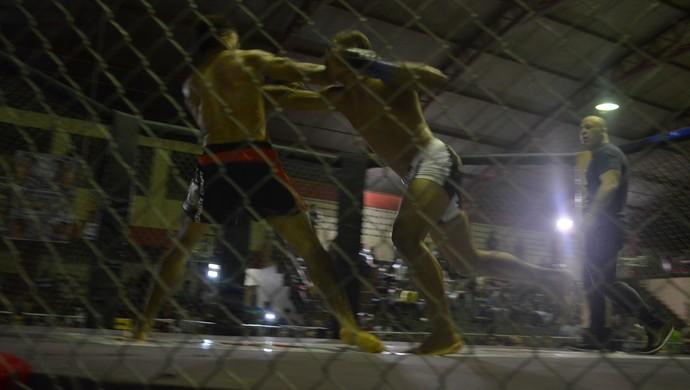 Pezão e Robson Cisco; Iron Man; MMA (Foto: Rafael Moreira/GE-AP)