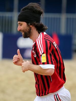 Pasquali Milan Mundialito de futebol de areia (Foto: Gaspar Nóbrega/Inovafoto)