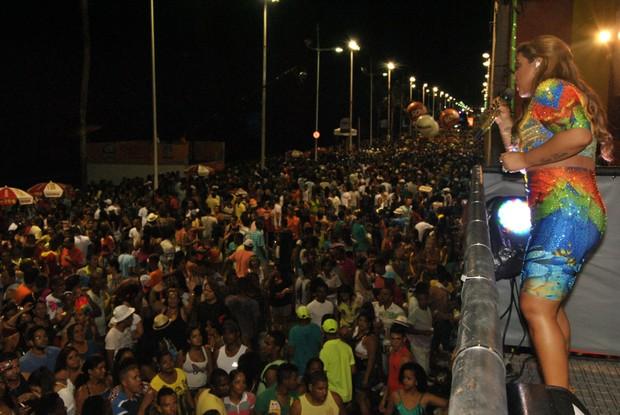 Preta Gil em Salvador (Foto: Marcelo Machado/Ag Haack)