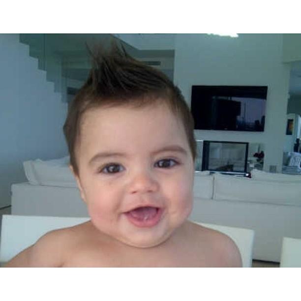 Filho da Shakira e Piquet (Foto: Reprodução/ Instagram)