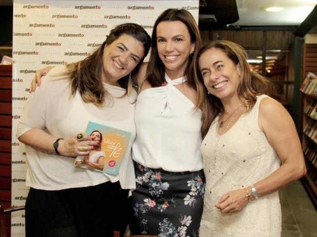 Patrícia Guimarães, Ana Paula Araújo e Cissa Guimarães (Foto: Alex Palarea / AgNews)