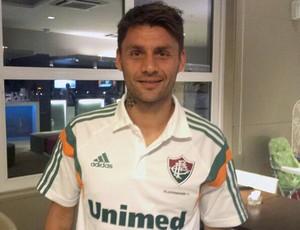 Rafael Sobis jogador Fluminense (Foto: Richard Souza)