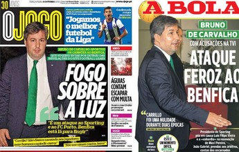 """Presidente do Sporting acusa Benfica de  dar """"presentinhos"""" para arbitragem"""