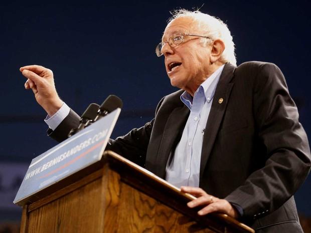 O pré-candidato democrata Bernie Sanders (Foto: Lucy Nicholson / Reuters)