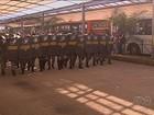 Protestos fecham terminais de ônibus na Grande Goiânia