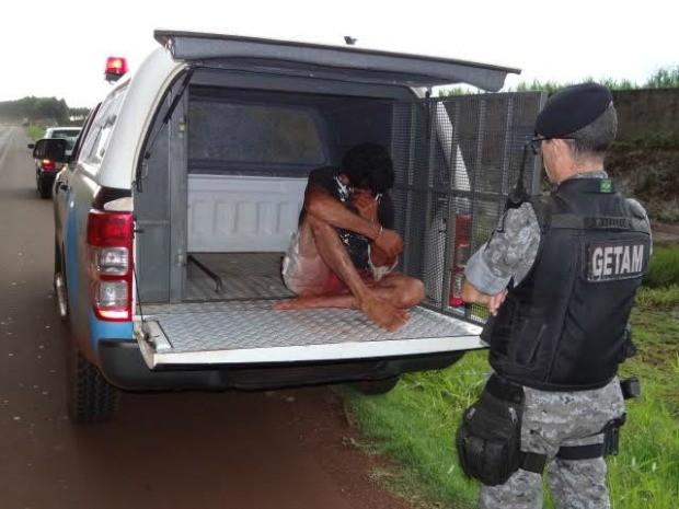 Homem está preso em Dourados e admitiu homicídio, segundo registro policial (Foto: Osvaldo Duarte/Dourados News)