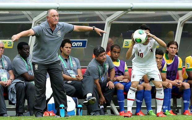 Felipão jogo Brasil contra Japão (Foto: Jefferson Bernardes / Vipcomm)