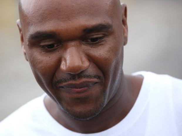 Alprentiss Nash em foto de 31 de agosto de 2012, dia em que deixou o Menard Correctional Center, em Chester, Illinois, após ser considerado inocente (Foto: E. Jason Wambsgans/Chicago Tribune via AP)