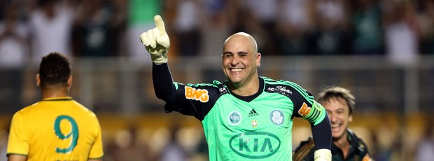 Marcos gol Palmeiras despedida (Foto: José Patrício / Ag. Estado)