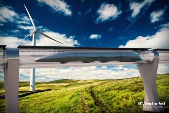 Hyperloop pode chegar a 1.200 quilômetros por hora (Foto: Hyperloop TT)
