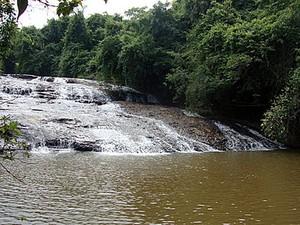 Cachoeira Escorregador em Brotas (Foto: Cachoeira Escorregador/Divulgação)