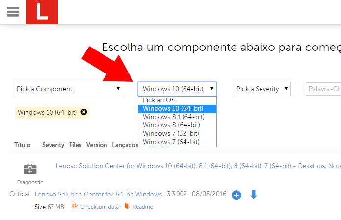 Escolha o sistema operacional (Foto: Reprodução/Paulo Alves) (Foto: Escolha o sistema operacional (Foto: Reprodução/Paulo Alves))
