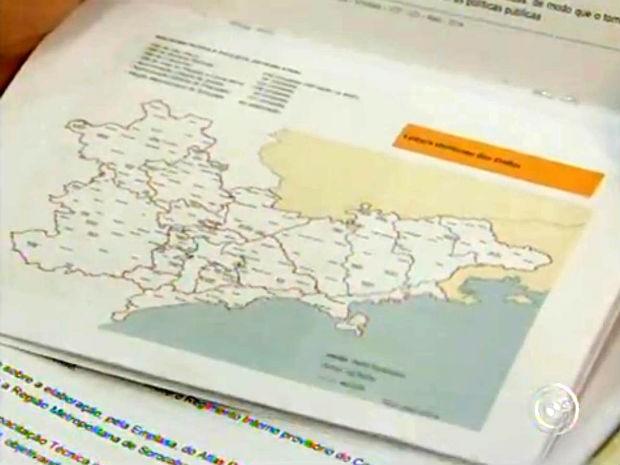 Encontro define primeiras ações da Região Metropolitana de Sorocaba (Foto: Reprodução/TV TEM)