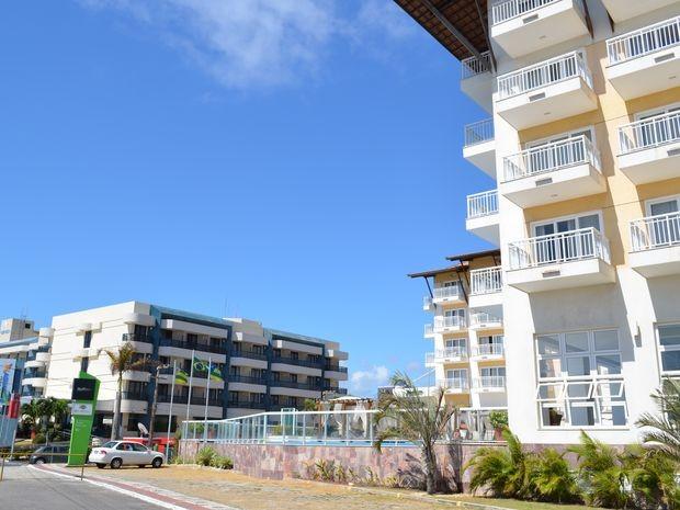 Hotéis da Orla da Atalaia em Aracaju (Foto: Marina Fontenele/G1 SE)
