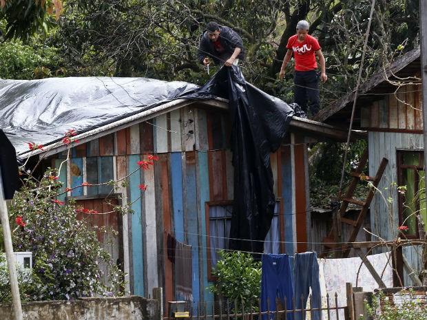 Em todo o Paranáx, 48.318 pessoas foram afetadas pela chuva (Foto: Defesa Civil/Divulgação)