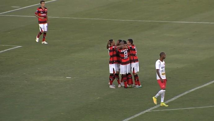 Atlético-GO x Anapolina - Campeonato Goiano 2016 (Foto: Reprodução / TV Anhanguera)