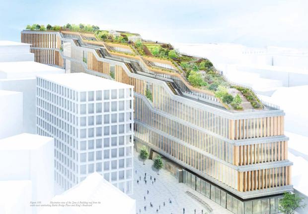 Projeto da sede do Google em Londres  (Foto: Divulgação: Hayes Davidson)