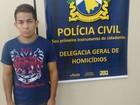 Preso suspeito de ajudar matar jovem (Divulgação/Polícia Civil)